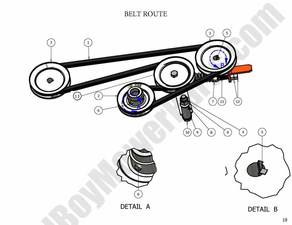 Bad Boy Mower Pump Belt Diagram, Bad, Free Engine Image