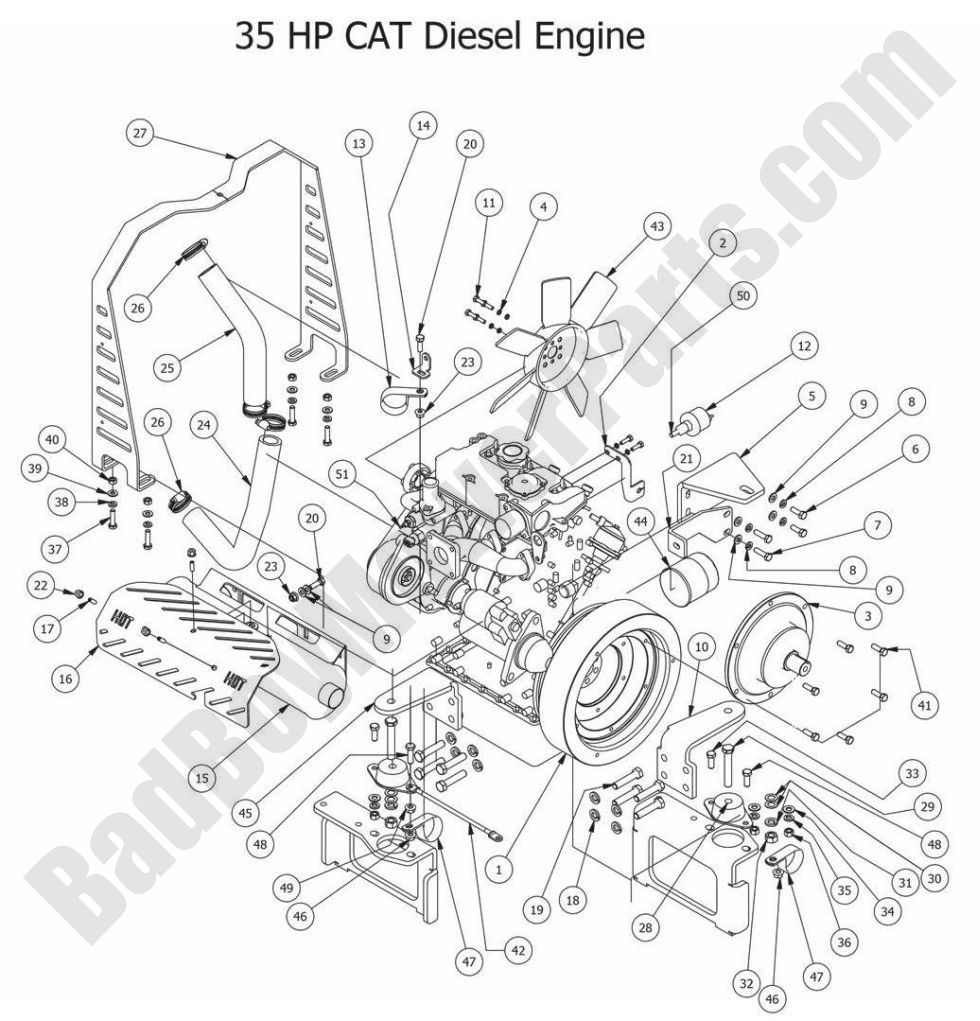 hight resolution of cat engine diagram