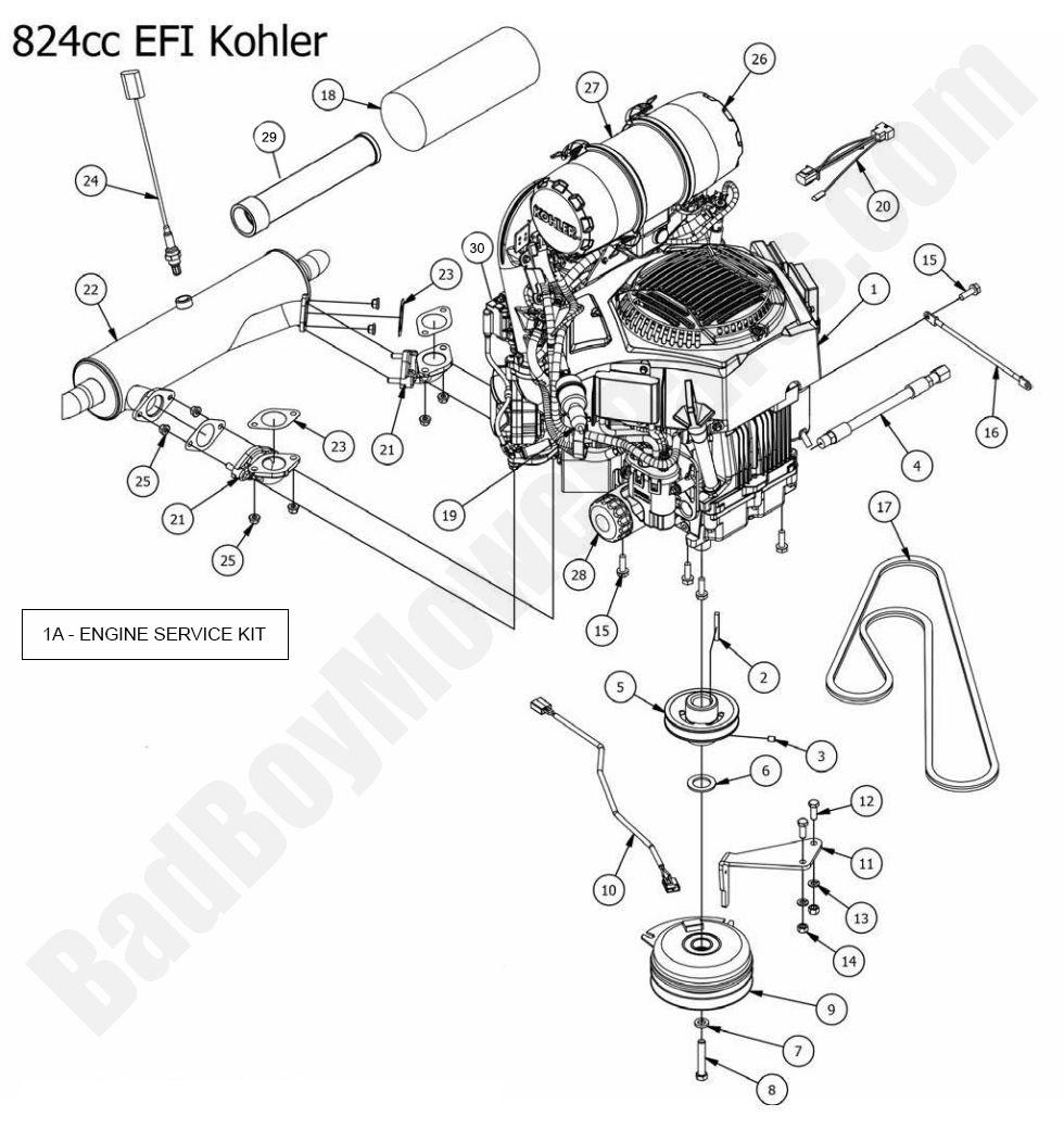 Bad Boy Mower 086 0075 00 Wiring Diagram : 40 Wiring