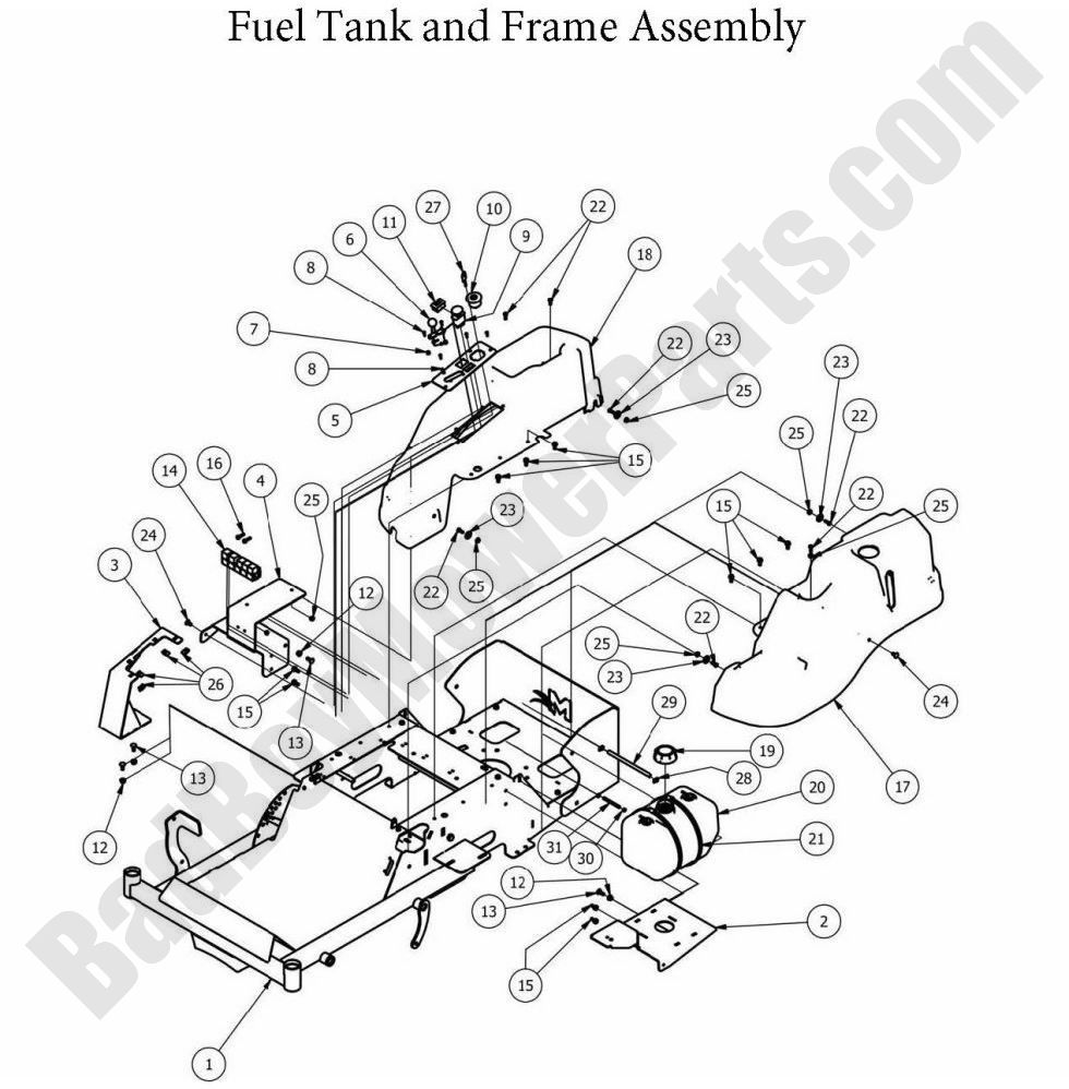 Bad Boy Mower 086 0075 00 Wiring Diagram : 40 Wiring