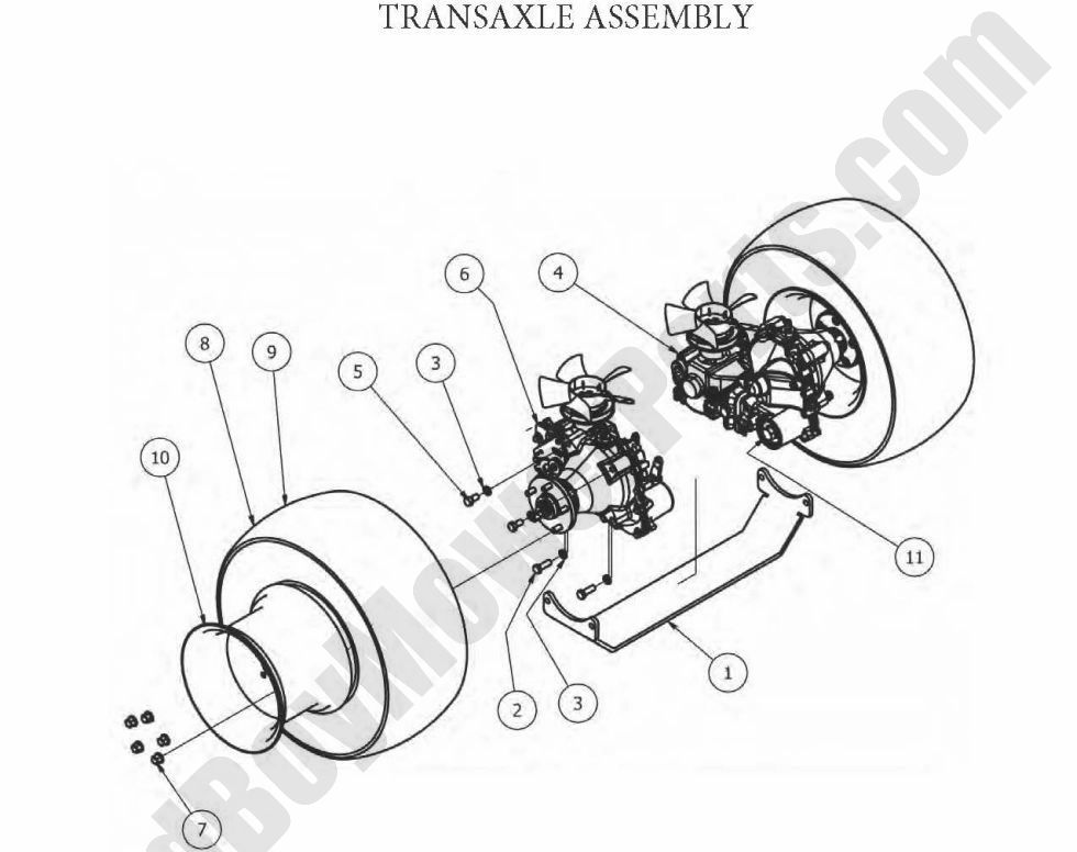 Bad Boy Parts Lookup 2012 Outlaw Transaxle