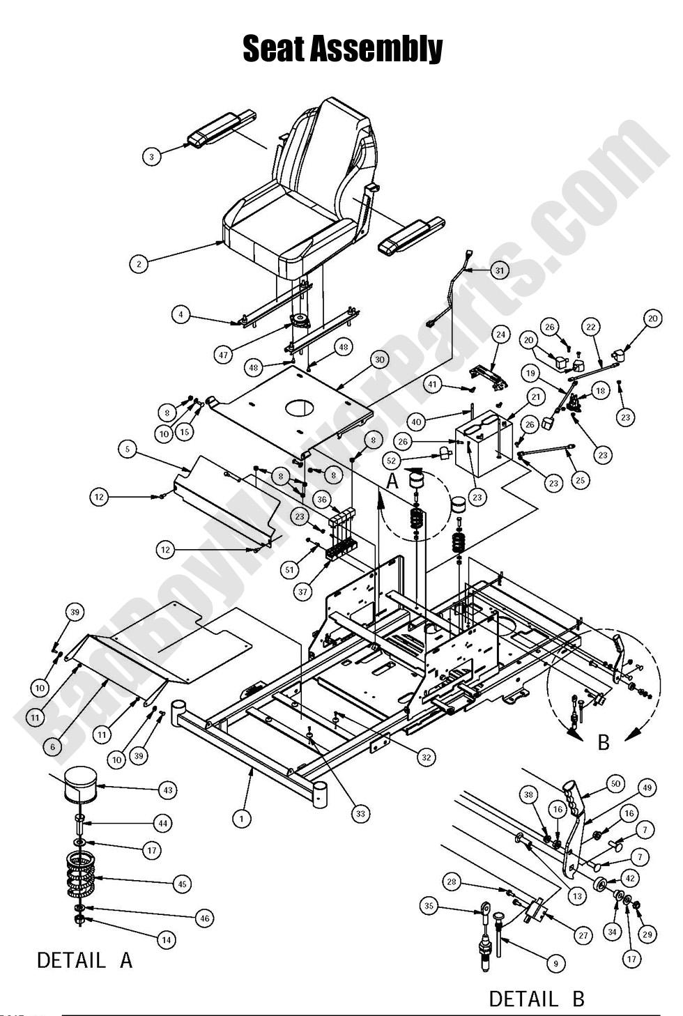 2010 Bad Boy Kawasaki Magnum Relay Wiring Diagram : 49