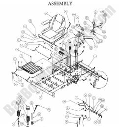 bad boy parts lookup 2013 zt elite seat frame [ 980 x 1123 Pixel ]