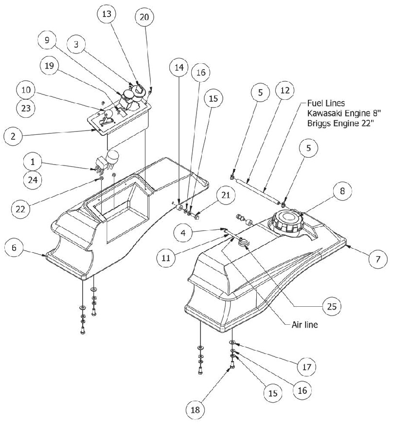 Buyang Fa B70 Wiring Diagram Atv