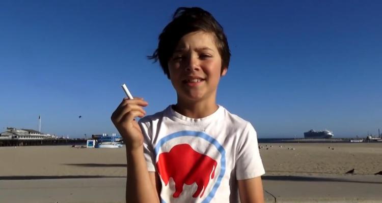 badchix Kid Smoking Experiment