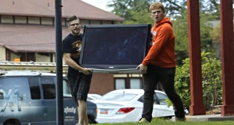 badchix Stealing TV Prank