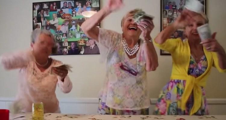 Senior Citizens Dancing