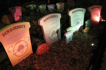 Ben and Jerry graveyard