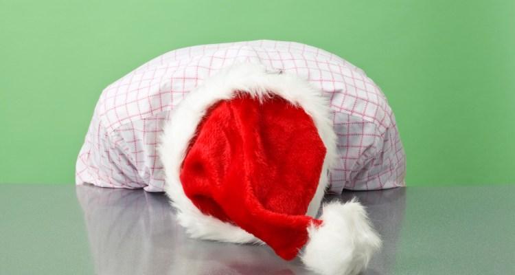 Santa hat face
