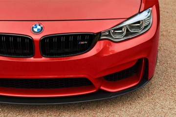 BMW M4 red