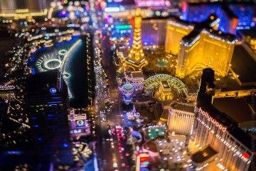Las Vegas From 10,800 Feet Up 1