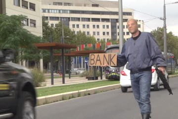 bank prank