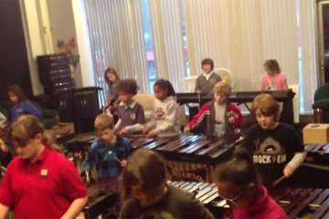 Louisville Leopard Percussionists - Covers Crazy Train 1