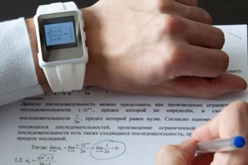cheating students smartwatch
