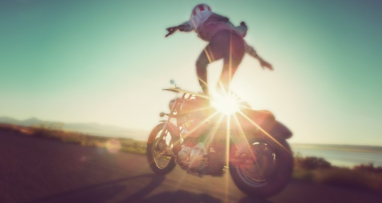 Motorcycle Surfing