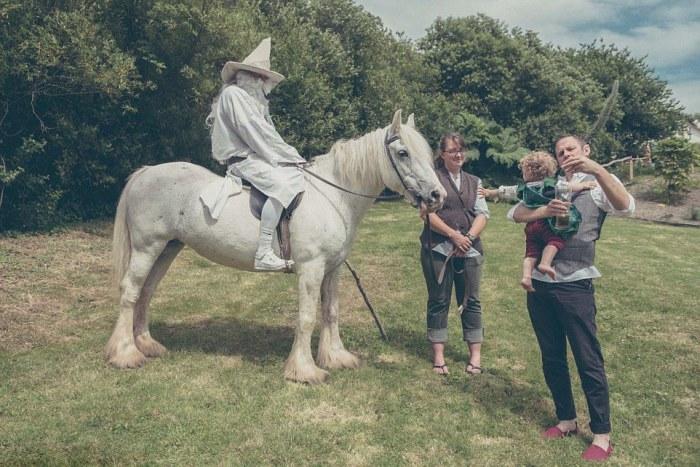 Hobbit-mad couple transform their garden into Middle Earth 12
