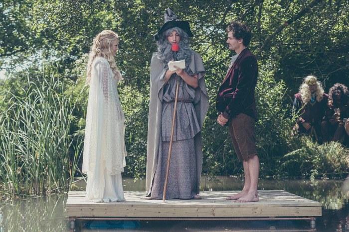 Hobbit-mad couple transform their garden into Middle Earth 18