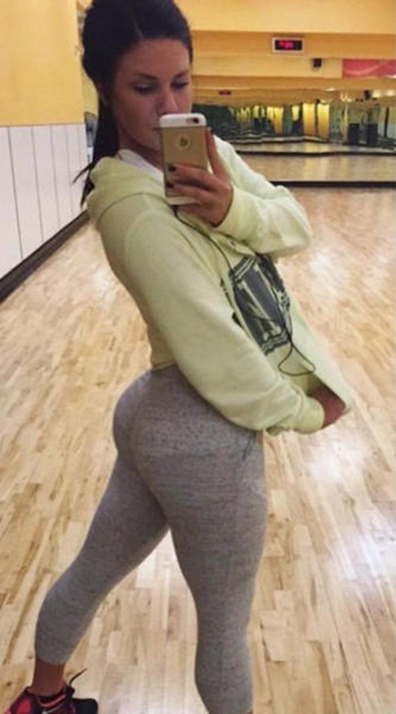 Badchix always look drop dead sexy in Yoga Pants 12