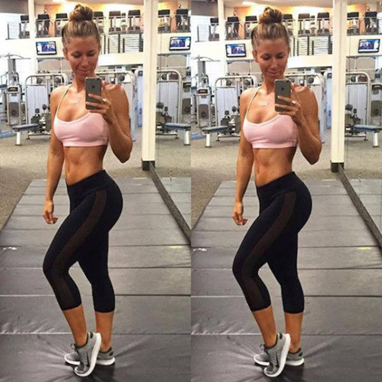 Badchix always look drop dead sexy in Yoga Pants 27