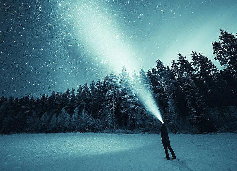 Finnish Night Sky by Joni Niemela