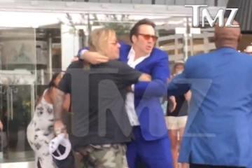 Vince Neil Fights Nicolas Cage in Las Vegas