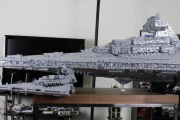 Massive Lego Imperial Star Destroyer Tyrant (22 Photos) 1