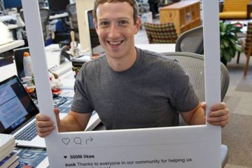 Mark Zuckerberg instagram profile