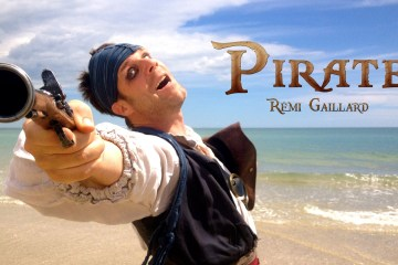 Remi Gaillard Becomes a Pirate