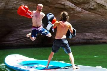 Summer Idea - Paddle Board Boxing