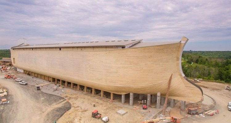 Full Size Replica Of Noah's Ark in Williamstown