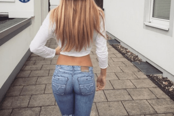 girls in tight jeans