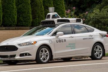 Uber's first self-driving car 1