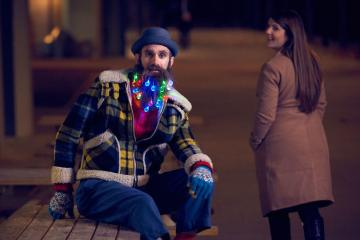 Is Your Beard Ready for some Christmas Lights (7 Photos)