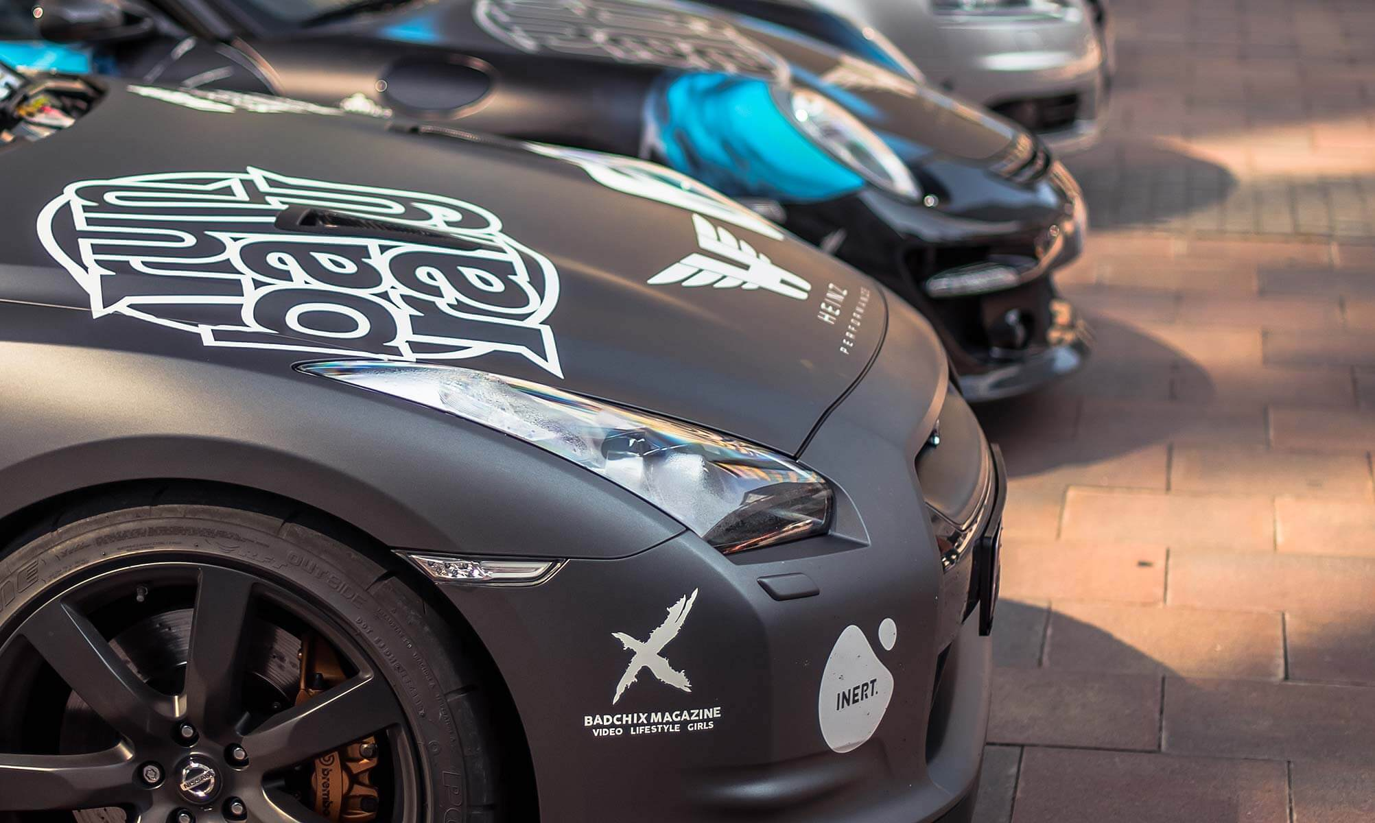95 Supercars Driving From Saint-Tropez to Barcelona in Europe