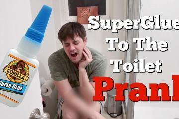 Nikki Superglued John to the Toilet