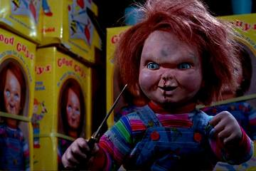 """The face of terror, in a overalls in """"Cult of Chucky"""" - Teaser Trailer"""