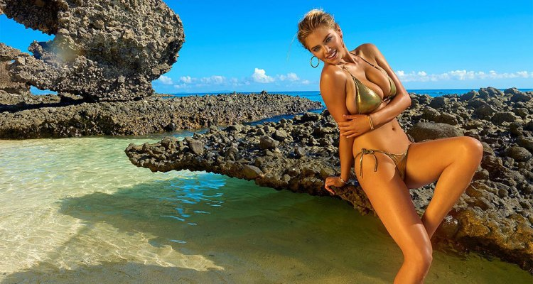 Kate Upton once again on the cover of Sports Illustrated Swimsuit.