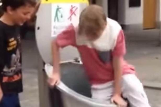 Kid Ends Up Trapped Underground