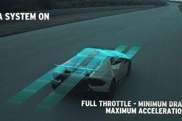 How the ALA (Lamborghini Active Aerodynamics) works 1