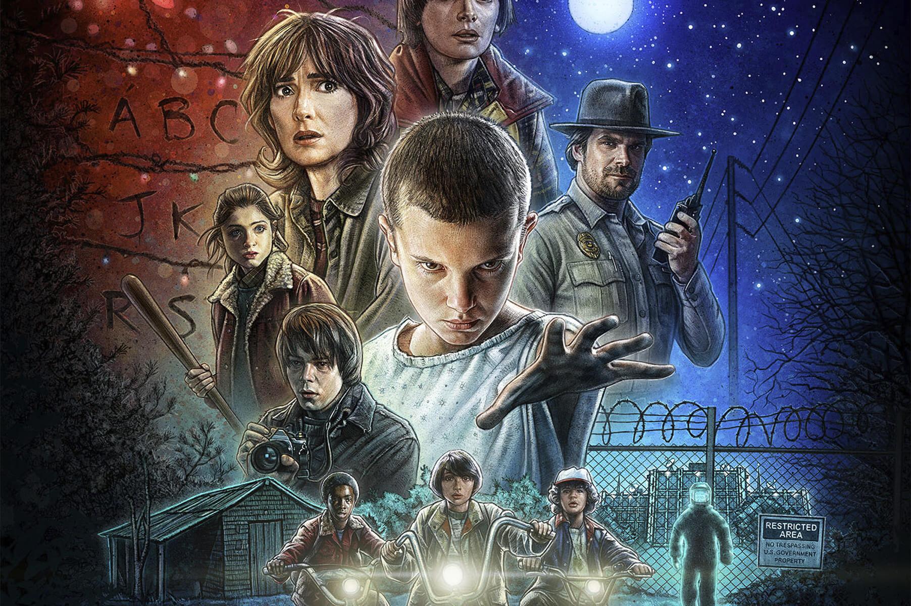 Stranger Things Season 2 Thriller Trailer