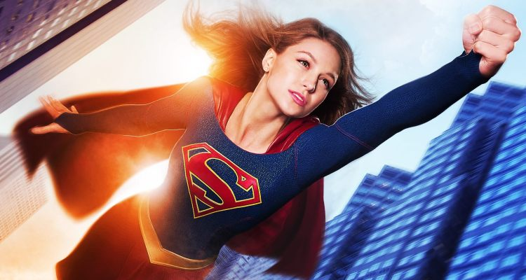 Supergirl and the Flash without VFX