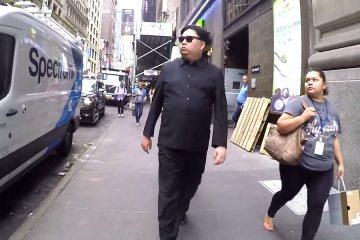 10 Hours of Walking in NYC as Kim Jong Un 2