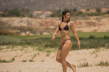 Danielle Campbell bikini