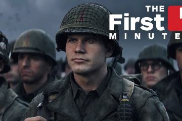 The First 15 Minutes of Call of Duty: WW2 Are So Intense! 1