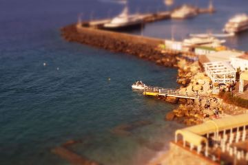 Capri Island Time-Lapse in Tilt Shift Aerial 1