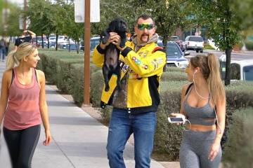 Funny Redneck Picking Up Girls with a Puppy 1