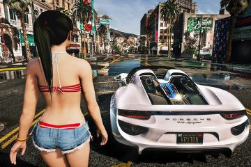 GTA V Next-Gen Graphics with Project NVRX MOD 1