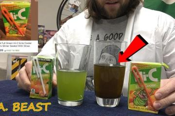 L.A. Beast Drinks a 24 Year Old Hi-C Ecto Cooler Juice Box which he Bought On Ebay for $400 1
