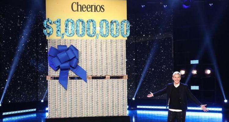 Ellen and Cheerios Gave Away $1 Million dollars to Her Unsuspecting Studio Audience Members 1