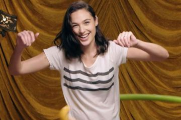 Gal Gadot Secret Hula Hooping Skills 1